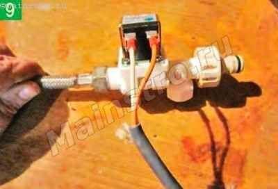 Подключенный клапан