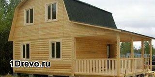 Срубы домов 7 на 9 для постоянного проживания