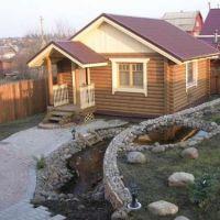 Технология строительства бани (сауны)