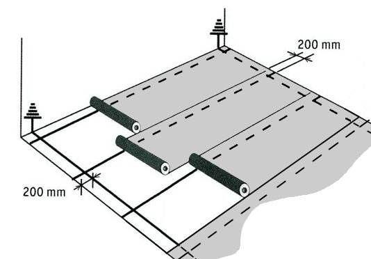 Один из принципов монтажа напольного покрытия с токопроводящими свойствами
