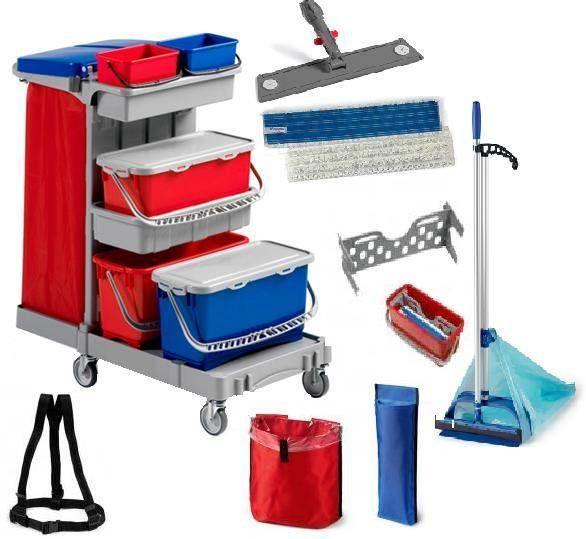 Уборочный инвентарь для пола – инструменты для облегчения труда уборщиц и домохозяек