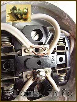 Устройство и ремонт выключателей, патронов, розеток, вилоки других электрических изделий