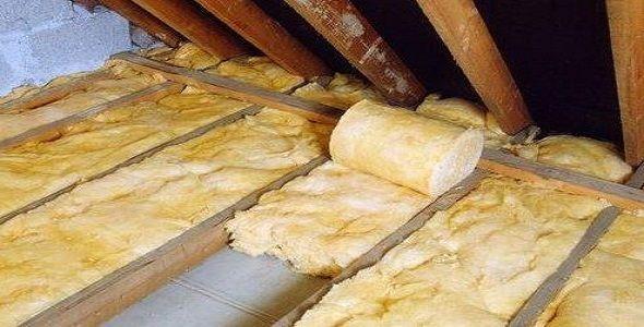 Утепление потолка минеральной ватой снаружи