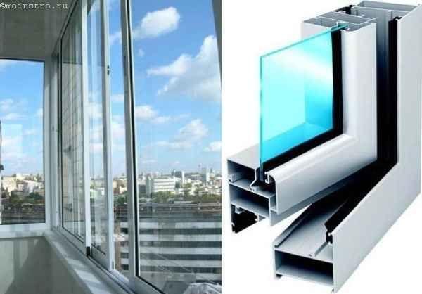 Варианты недорогого остекления балконов и лоджий