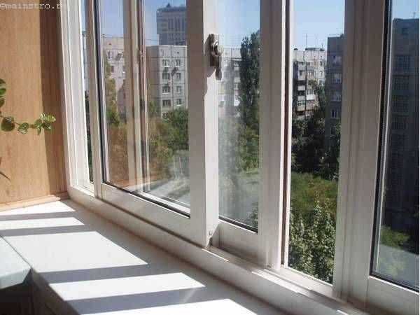 Вариант остекления балконов или лоджий с раздвижными створками