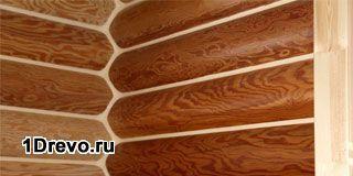 Варианты внутренней отделки бревенчатого дома