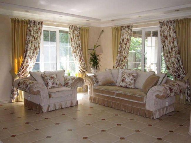 Выражаем стиль прованс в шторах: как подобрать в любой интерьер